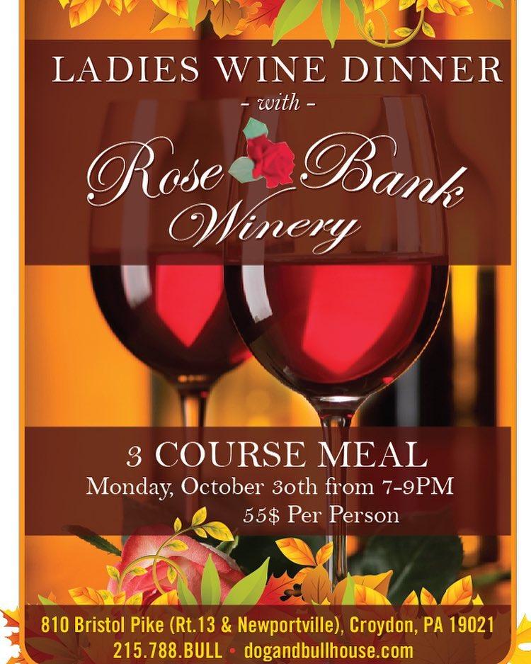 ladies wine dinner