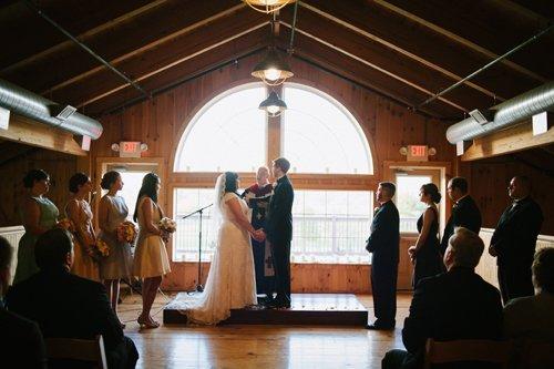 wedding in loft