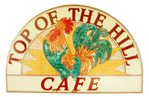 top of the hill cafe logo