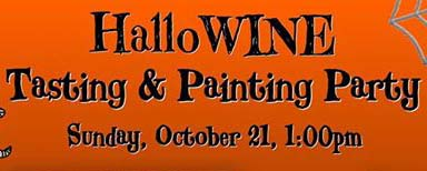 hallowine painting party